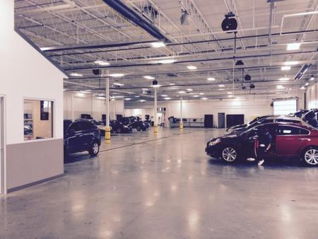 Carbone Auto Group-New Corporate Offices & Recon/Auction/Facility Vehicle Reconditioning Area