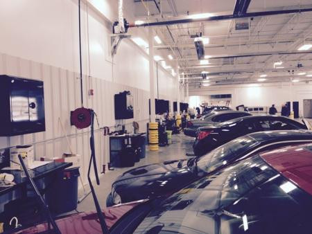 Carbone Auto Group-New Corporate Offices & Recon/Auction/Facility Reconditioning Work Stations