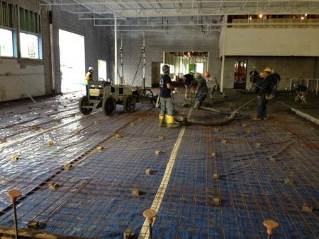 Carbone Auto Group-New Corporate Offices & Recon/Auction/Facility Slab Pour
