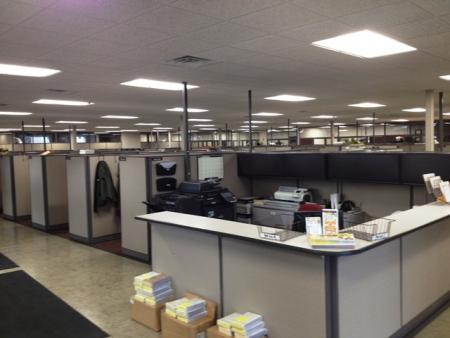 Carbone Auto Group-New Corporate Offices & Recon/Auction/Facility Office Work Stations