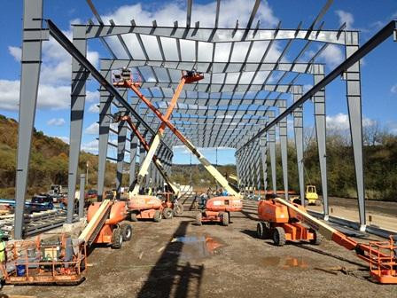 Feldmeier Equipment - New Building-Steel Erection