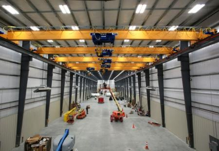 Feldmeier Equipment - Bridge Cranes Installed